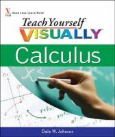 Teach Yourself Visually Calculus
