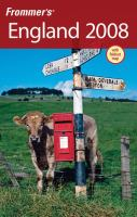 Frommer's England 2008