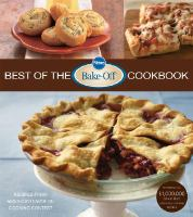 Pillsbury Best of the Bake-off Cookbook