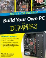 Build your Own PC for Dummies