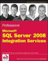 Professional Microsoft SQL Server 2008 Integration Services