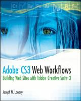 Adobe CS3 Web Workflows