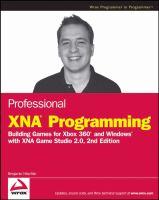 Professional XNA Programming