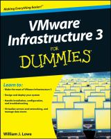 VMware Infrastructure 3 for Dummies