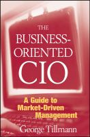 The Business-oriented CIO