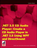 NET 3.5 CD Audio Player