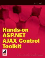 Hands on ASP.NET AJAX Control Toolkit