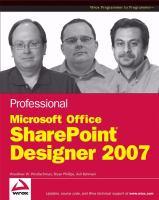 Professional Microsoft Office SharePoint Designer 2007