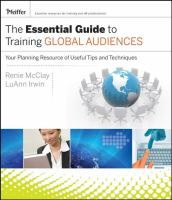 The Essential Guide to Training Global Audiences