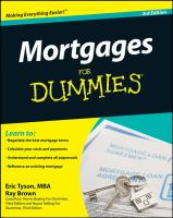 Mortgages for Dummies