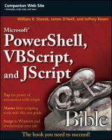 Microsoft Powershell, VBScript, and JScript Bible