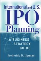 International and U.S. IPO Planning