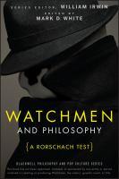 Watchmen and Philosophy