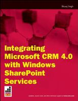 Integrating Microsoft CRM 4.0 With Windows SharePoint Services