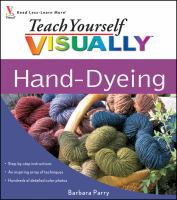 Hand-dyeing