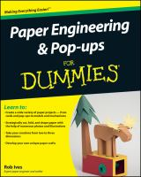 Paper Engineering & Pop-ups for Dummies
