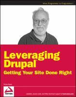 Leveraging Drupal