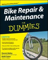 Bike Repair & Maintenance for Dummies