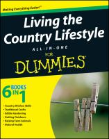 Living the Country Lifestyle, All-in-one for Dummies