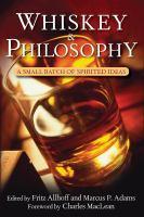 Whiskey & Philosophy