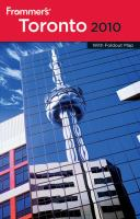 Frommer's Toronto 2010