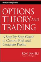 Options Theory and Trading