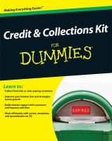 Credit & Collections Kit for Dummies