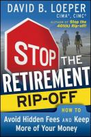 Stop the Retirement Rip-off!