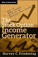The Stock Option Income Generator