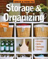 Storage & Organizing