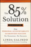 The 85% Solution