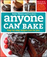 Anyone Can Bake