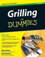 Grilling For Dummies®