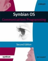 Symbian OS Communications Programming, 2nd Edition
