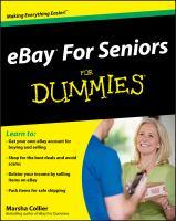 EBay for Seniors for Dummies