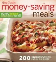 Betty Crocker Money Saving Meals