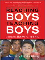 Reaching Boys, Teaching Boys