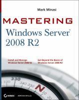Mastering Windows Server 2008 R2