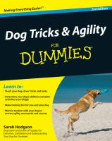 Dog Tricks & Agility for Dummies