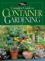 Better Homes and Gardens Complete Guide to Container Gardening