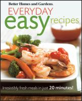 Everyday Easy Recipes
