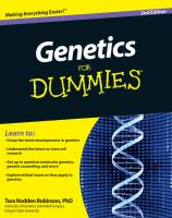Genetics for Dummies