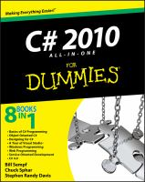 C♯ 2010 All-in-one for Dummies