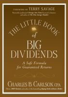 The  Little Book $ Big Dividends