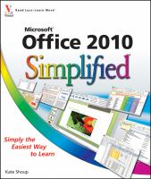 Office 2010 Simplified