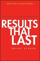 Results That Last