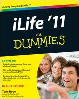 ILife '11 for Dummies