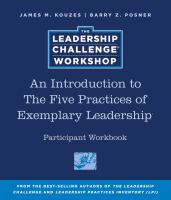 An Introduction to the Five Practices of Exemplary Leadership