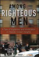 Among Righteous Men