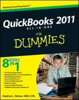Quickbooks 2011 All-in-one for Dummies